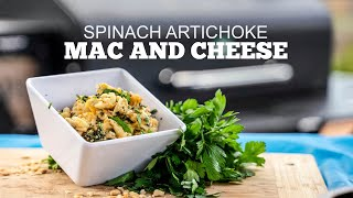 Smoked Spinach Artichoke Mac and Cheese | Green Mountain Grill Recipes