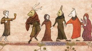 Traveling Group Of Medieval Mummers Is America