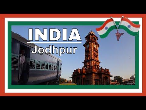India vlog Jaipur to Jodhpur by train NDLS Ajmer & Blue City of Jodhpur Sightseeing