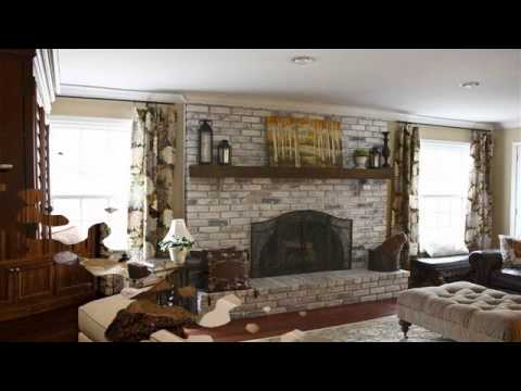 Stone Fireplaces Designs Ideas - YouTube