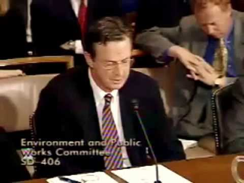 Michael Crichton's testimony before Congress on mixing science and politics