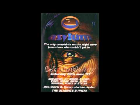 E Logic @ Asylum - 1st Birthday (Bowlers, Manchester - 28th June 1997)