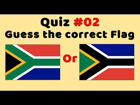 Quiz : Which Flag Is Correct? (Part 2)