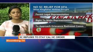 Newsroom: No Supreme Court Relief For Kingfisher Airlines