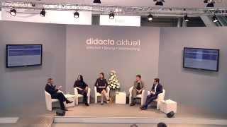 Medienkompetenz stärken   Podiumsdiskussion auf der didacta am 26. Februar 2015