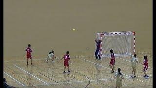 20191214福岡県高校新人ハンドボール(女子)2回戦 筑紫女学園vs光陵(前半)