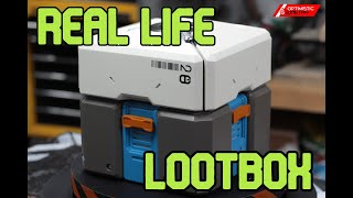 Real Life Mechanical Overwatch Loot Box