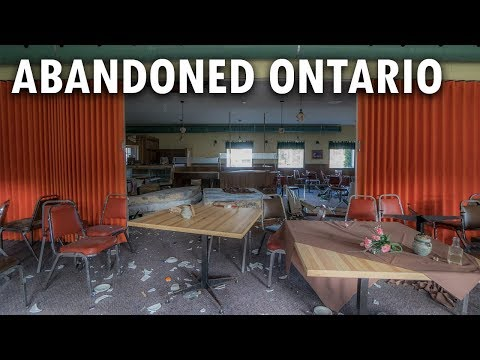 Abandoned Motels And Restaurant | Trans Canada Highway Explorations