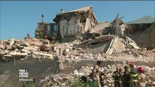 In time of grief and need, devastated Italian towns receive global support