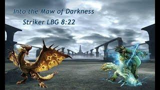 【MHGU MHXX】G4☆ Into the Maw of Darkness 牙狼・闇に堕ちし呀 Striker LBG ¤8:22¤