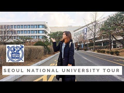 Seoul National University Tour, South Korea | Come with me