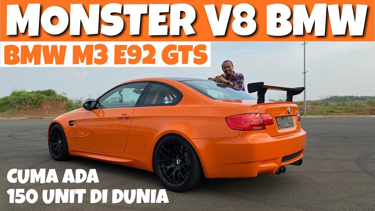 TES LANGSUNG BMW M3 E92 GTS YANG SANGAT LANGKA