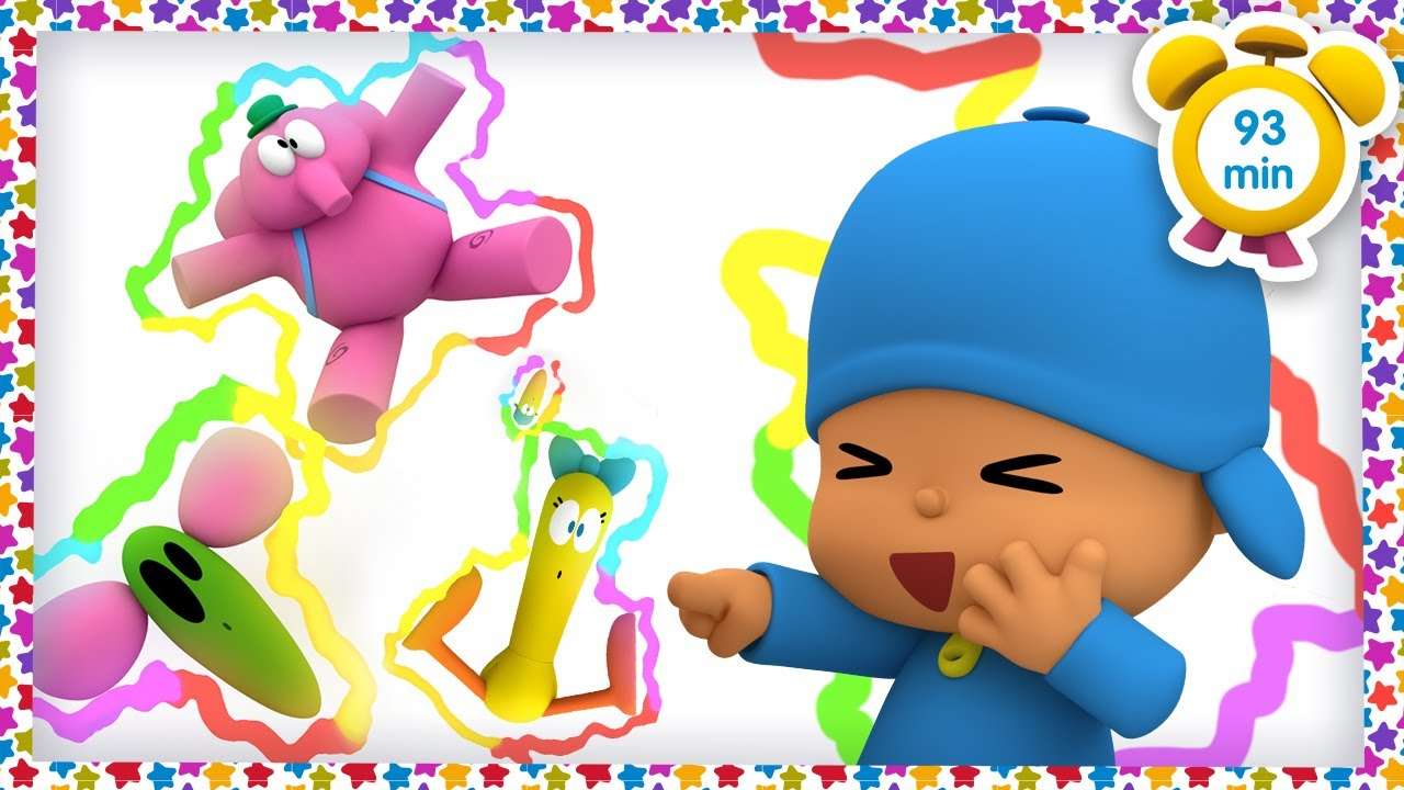 😝 POCOYO in ENGLISH - Prank War [93 min] | Full Episodes | VIDEOS and CARTOONS for KIDS
