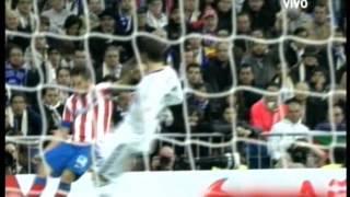 Real Madrid 1 Atletico de  Madrid 2  Final Copa Del Rey 2013 Los goles (17/5/2013)