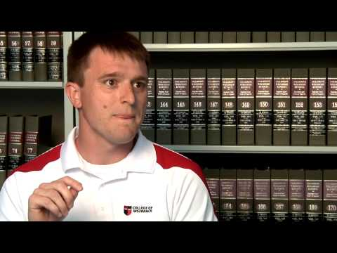 Society College of Insurance Testimonial - Mike Will