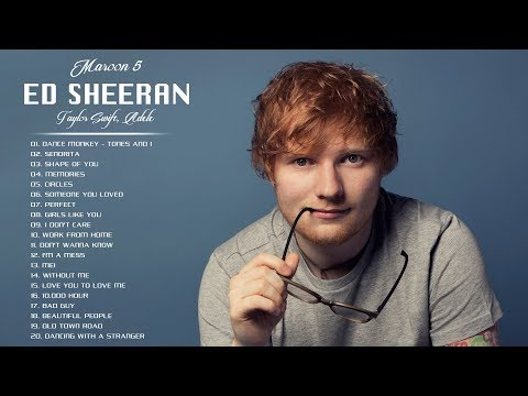 Maroon 5, Ed Sheeran, Taylor Swift, Adele, Ariana Grande - Best Pop Music Playlist 2020