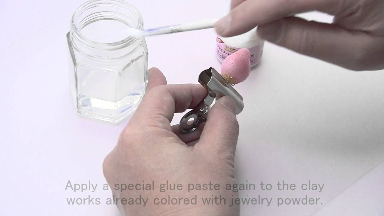 Jewelry Powder : Recoating (with the different color)