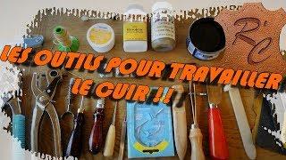 Salut la compagnie ! Voici les outils indispensables si vous voulez vous lancer dans le travail du cuir :) Adresse pour les bracelets : sebfsr21@hotmail.fr Site ...