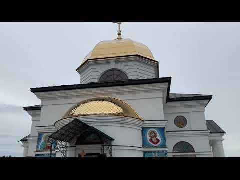 Божественна літургія в Преображенському храмі с. Гусенці Бориспільского р-ну