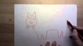 Katten, en tegnefortelling.