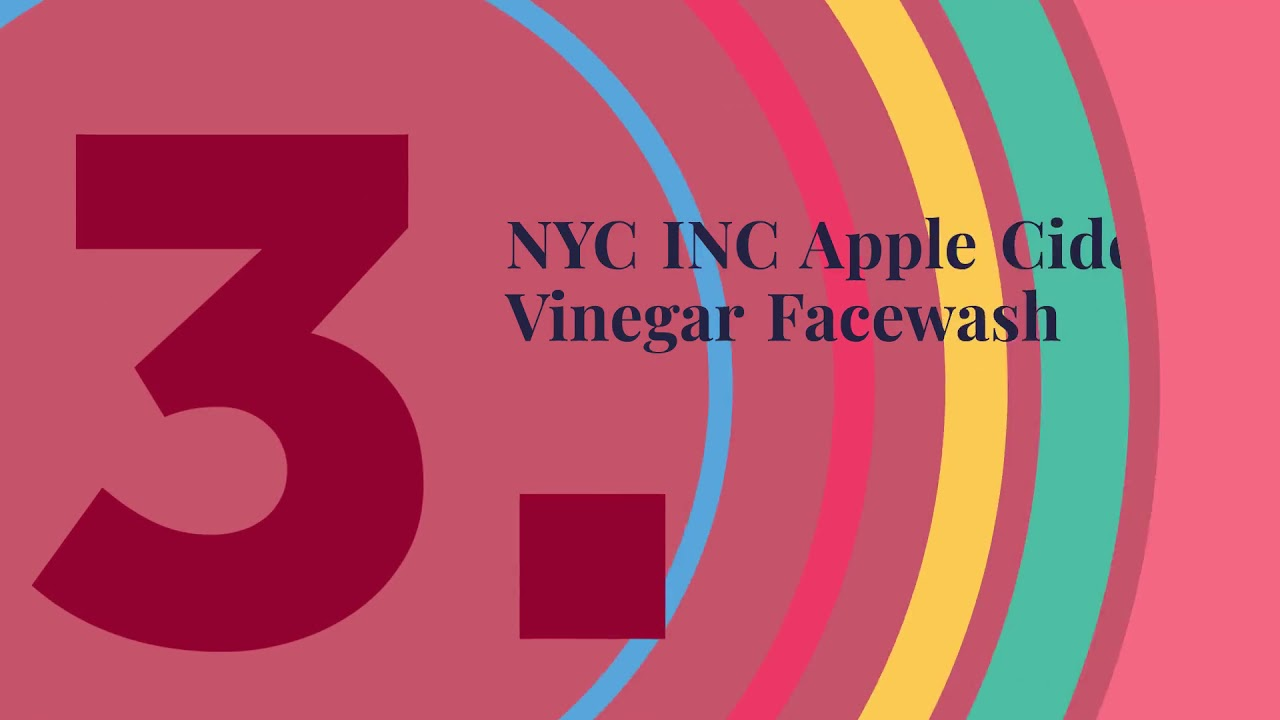 Complete List of Top 5 Apple Cider Vinegar Face Wash India