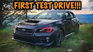 Rebuilt Subaru WRX First ACTUAL Test Drive!