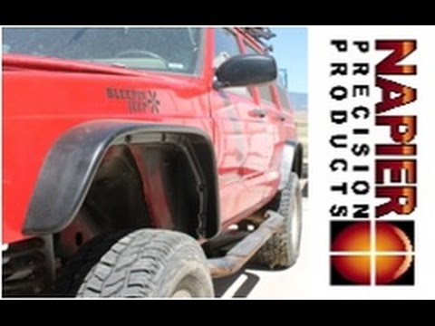 How To Install Napier Precision Products Flat Fender Flares