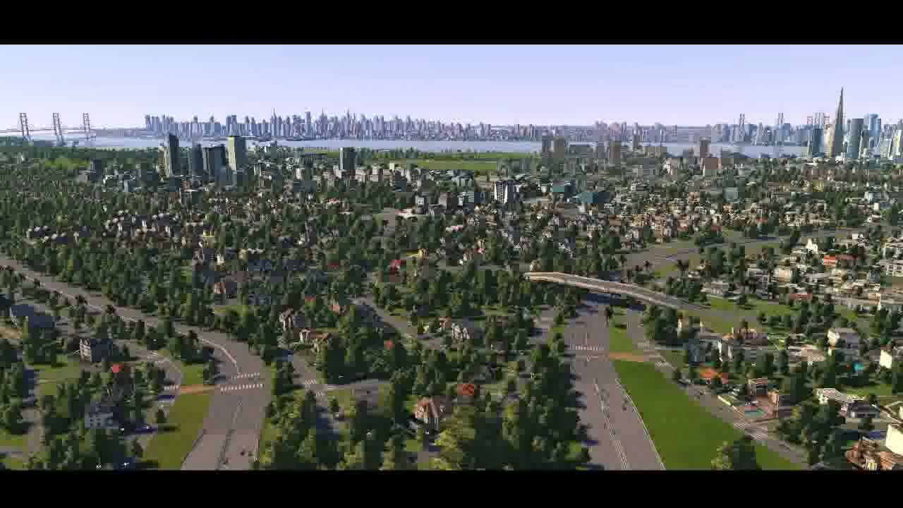 Cities XL New YorkNew Jersey YouTube - New york map cities xl