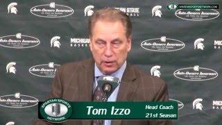 Michigan State 71 Nebraska 72: Tom Izzo