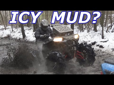 BIG POLARIS STUCK? INDIAN RIVER ATV CLUB RIDE PT 2