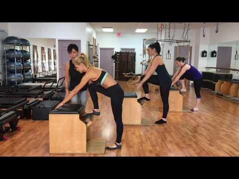 Renee Ricca's Master Class Workshops Teaching Pilates Group Classes