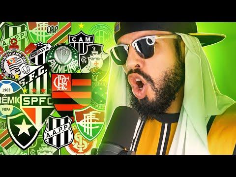 RAP COM 50 TIMES DE FUTEBOL DO BRASIL part. Fred @Desimpedidos