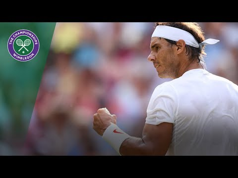 Rafael Nadal vs Jiri Vesely 4R Highlights | Wimbledon 2018