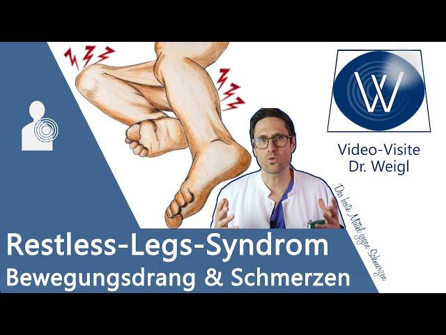 Restless Legs Syndrom RLS 💡 Die vergessene Krankheit | Unruhige Beine beim Einschlafen & Nachts