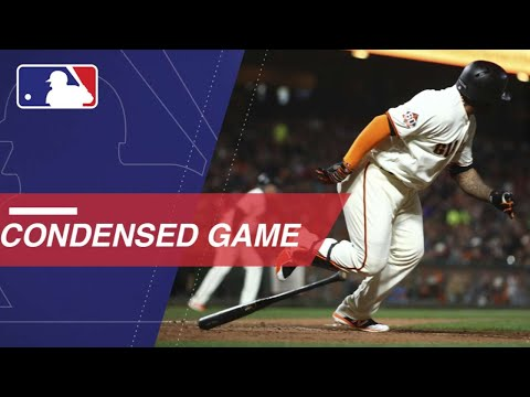 Condensed Game: CIN@SF - 5/15/18