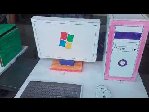 Computer Model / project -  4th Class Students of