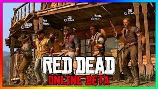 Red Dead Online - NEW FEATURES! Lobby Size, Money Grinding, Hunting, Horse Insurance & MORE! (RDR2)