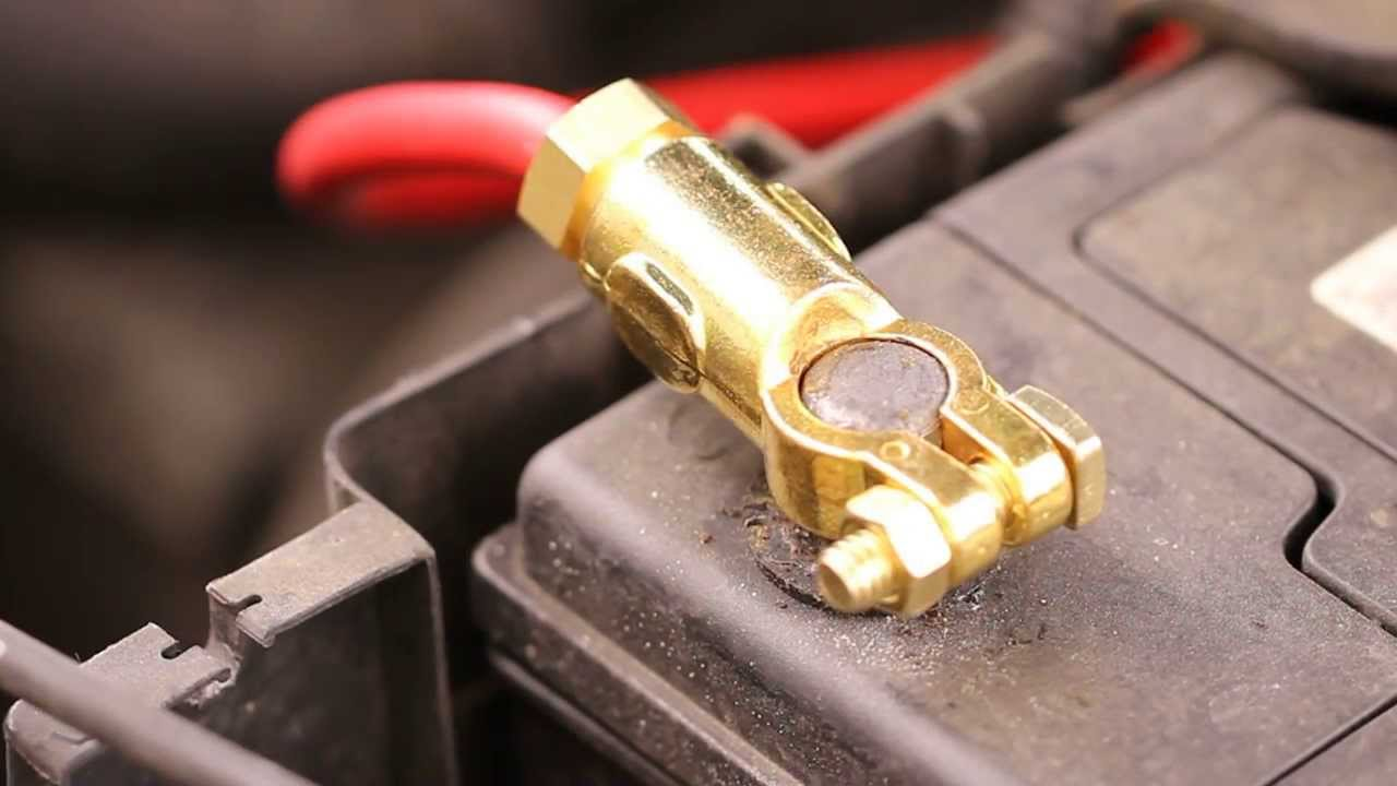 Auto Battery Cable Ends : How to change your car battery terminal connectors youtube