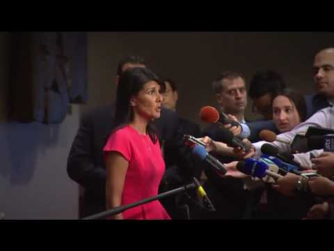 Nikki Haley (USA) on Non-proliferation / Democratic People's Republic of Korea (5 August 2017)
