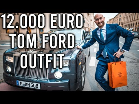 Mein neues 12.000 Euro Tom Ford Outfit!