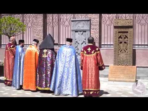 Освящение Хачкара в память о героях Арцаха(Пашковский, Краснодар)
