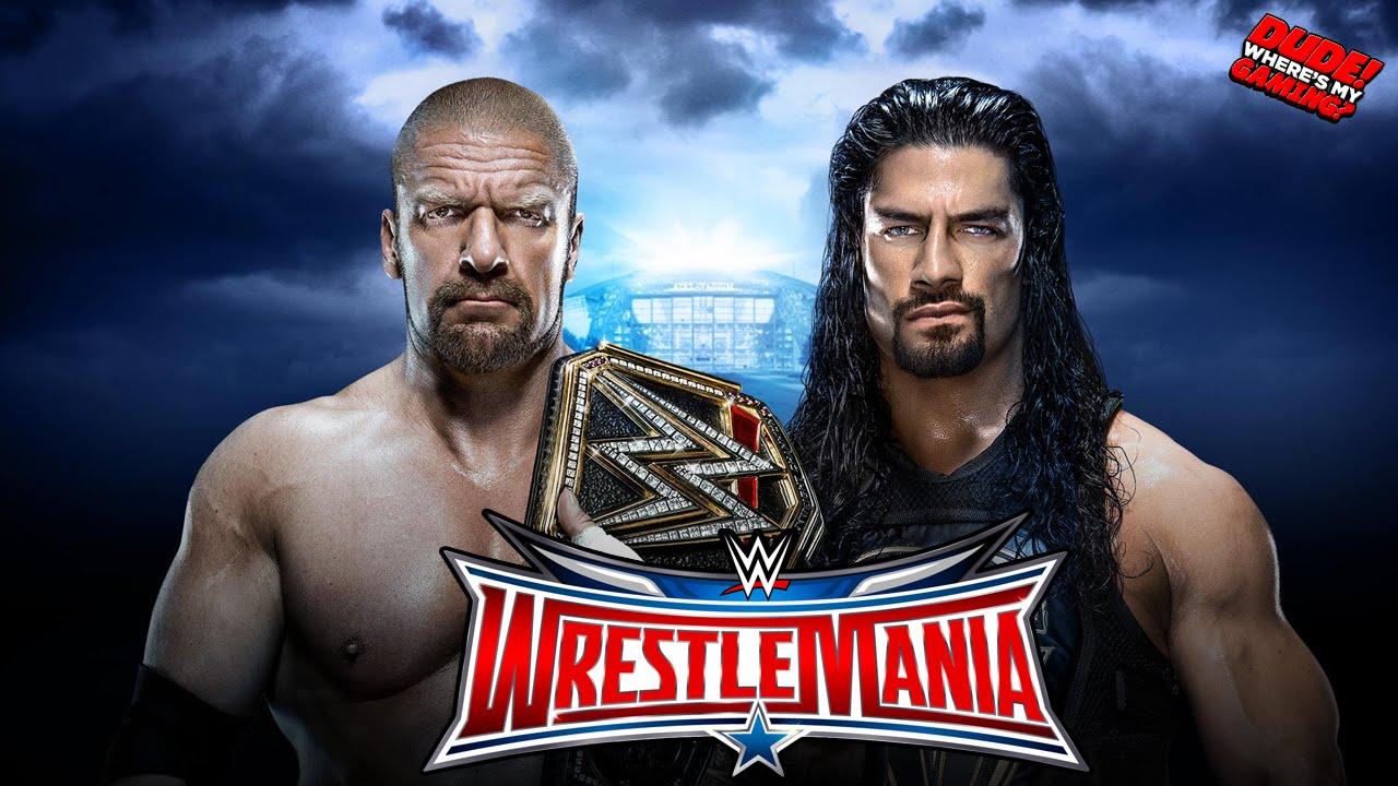 Download Triple H vs Roman Reigns - WWE World Heavyweight Championship - Wrestlemania 32 | WWE 2k16