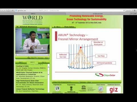World Renewable Energy Technology Conference - Presentation by Clique Solar