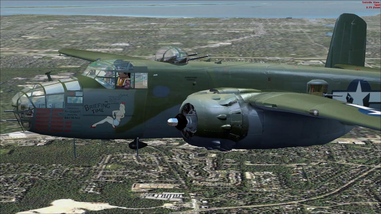 maam-sim b-25j briefing time