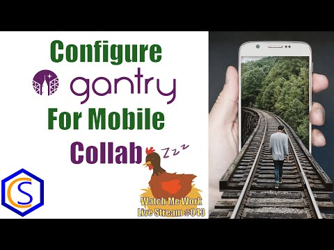How To Configure Rockettheme Gantry 5 For Mobile On Joomla - 👀 Watch Me Work 043