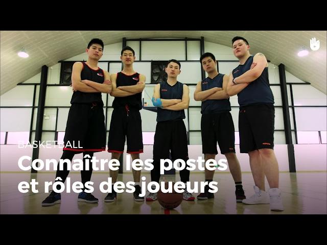 Connaître les postes et rôles des joueurs | Basketball