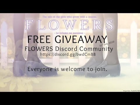 [FLOWERS AUTOMNE!!!] LIVE! - Giveaway Announcing
