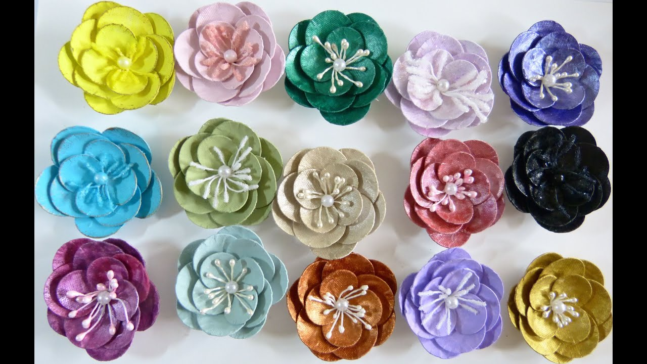 DIY:Easy to make Paper plate flower tutorial by SaCrafters ... - photo#47