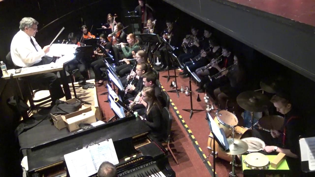 2 4 17 Fiddler On The Roof Finale Pit Orchestra Youtube