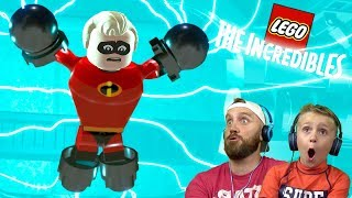 Mr. Incredible in Trouble! LEGO The Incredibles Gameplay #11 | KIDCITY
